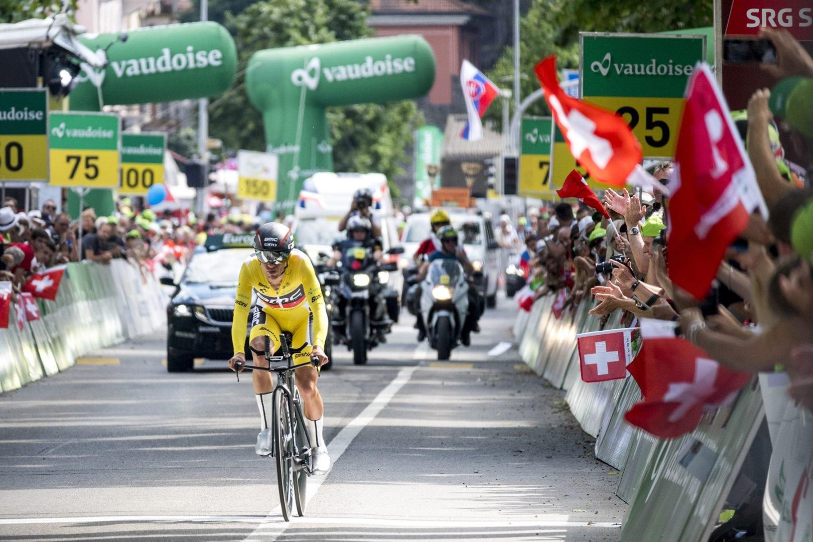 El australiano Richie Porte, ciclista delBMC, se proclamó este domingo vencedor final de la Vuelta a Suiza.