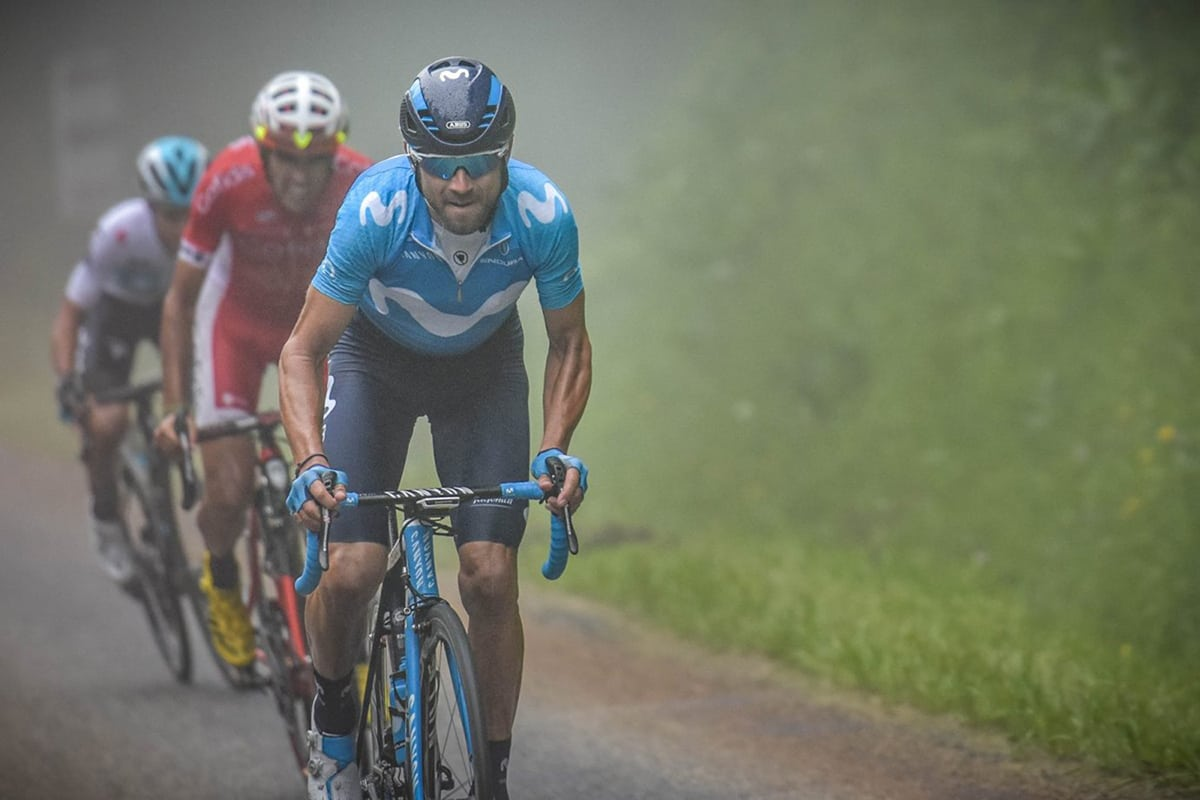 Alejandro Valverde (Movistar Team) se hace con la general después de vencer la etapa reina de la Ruta de Occitania.