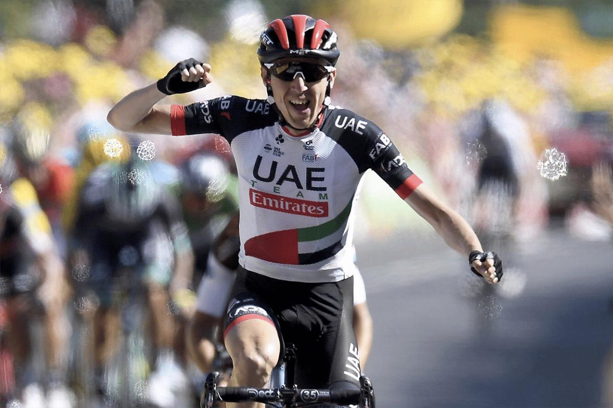 Dan Martin ganó la etapa 6 del Tour de Francia con final en el Muro de Bretaña.