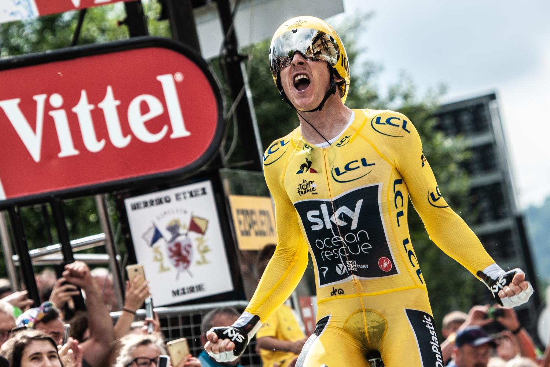Geraint Thomas consiguió su primer Tour de Francia, manteniendo el dominio del Team Sky (Foto: LeTour).