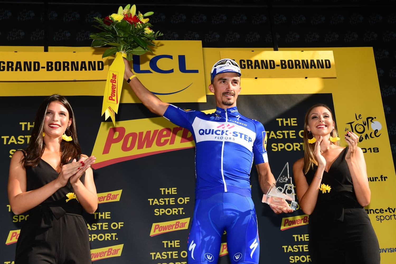 Julian Alaphilippe en el pasado Tour de Francia.