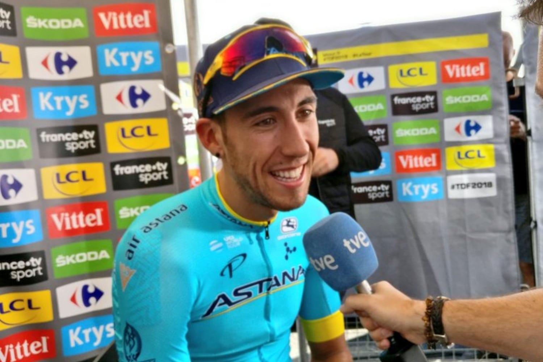 El español Omar Fraile quiere ganar una etapa como en el Tour. (Foto: Astana).