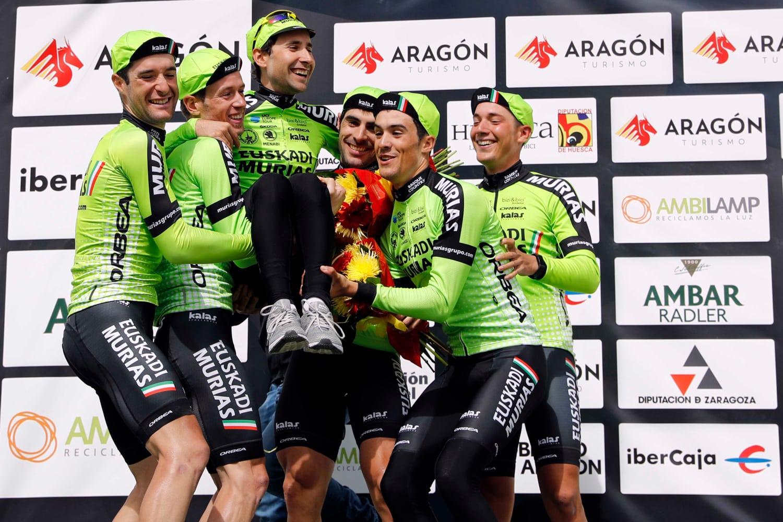 El Euskadi Murias volverá a disputar una gran vuelta (Foto: GomezSport).