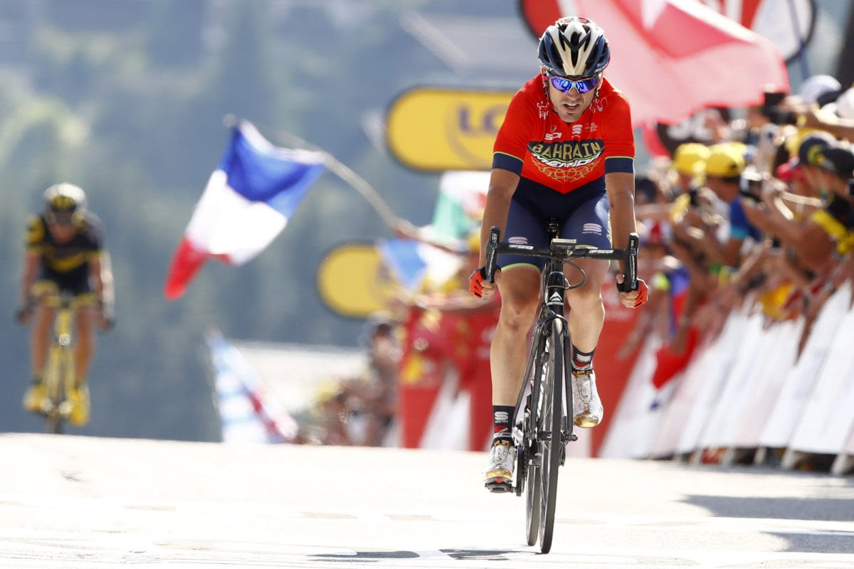 Ion Izagirre sigue luchando por la general (Foto: Team Bahrain-Merida / BettiniPhoto).