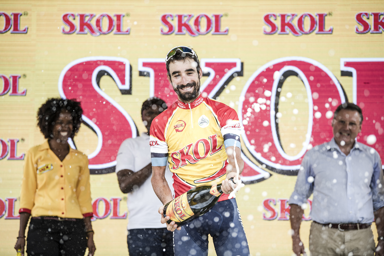 David Lozano ha logrado hoy su primera victoria  como profesional al imponerse en la séptima etapa del Tour de Ruanda.