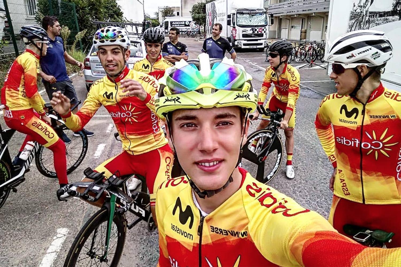 Fernando Barceló logró la primera victoria de etapa para España en el Tour del Porvenir al culminar una larga escapada.
