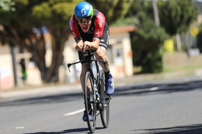 Scotson es una de las promesas del ciclismo australiano (Fuente: Mitchelton Scott).