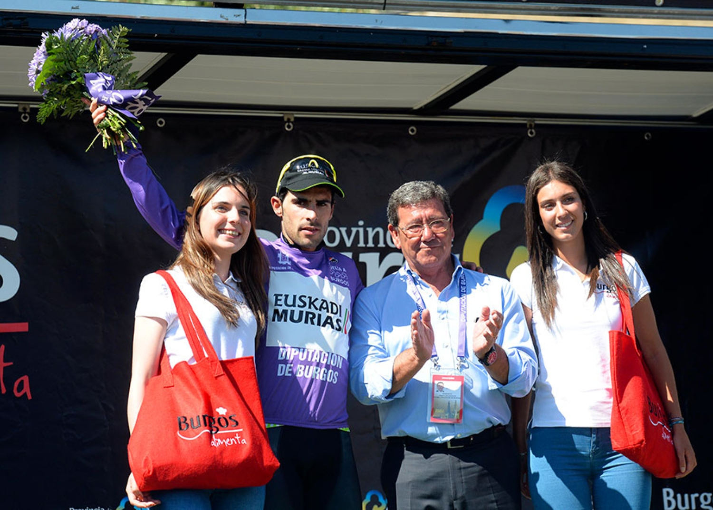 El vasco Aberasturi nuevo líder tras la segunda etapa (Fuente: Vuelta a Burgos).