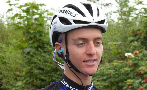 El ciclista estadounidense Adrien Costa cuando corría para el Etixx Quick-Step.