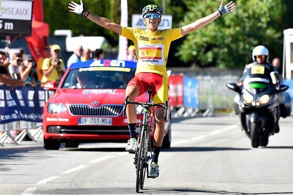 El ciclista de Movistar Marc Soler fue el último español en conquistar el Tour del Porvenir (Foto: Movistar).