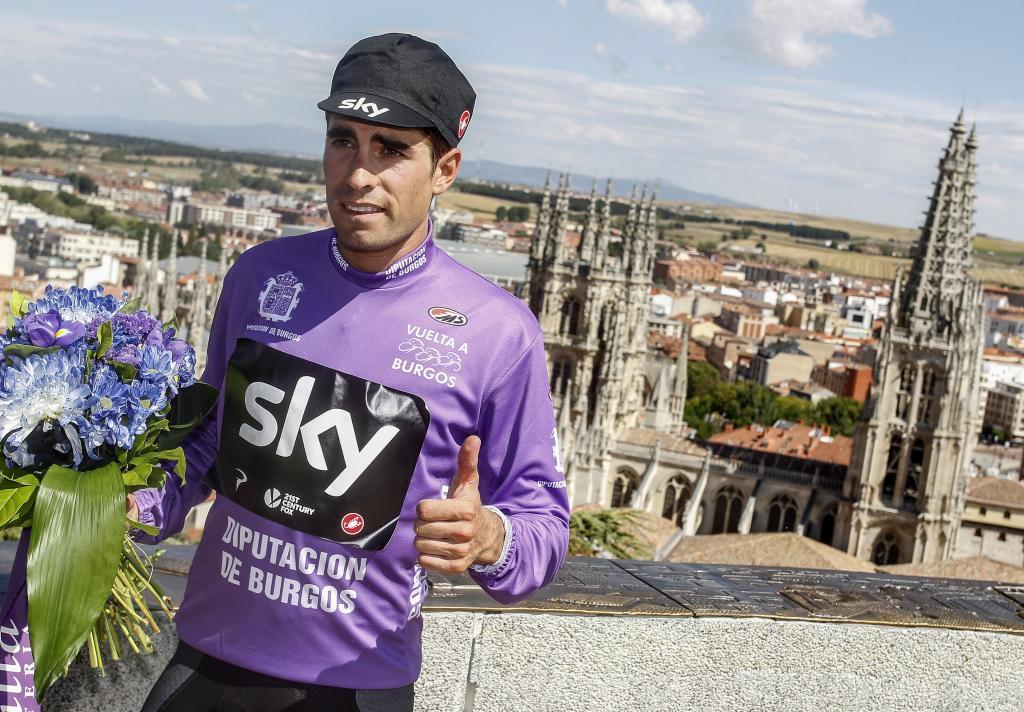 Mikel Landa ganó la Vuelta a Burgos 2017. El vasco no estará en la XL edición (Foto: EFE).