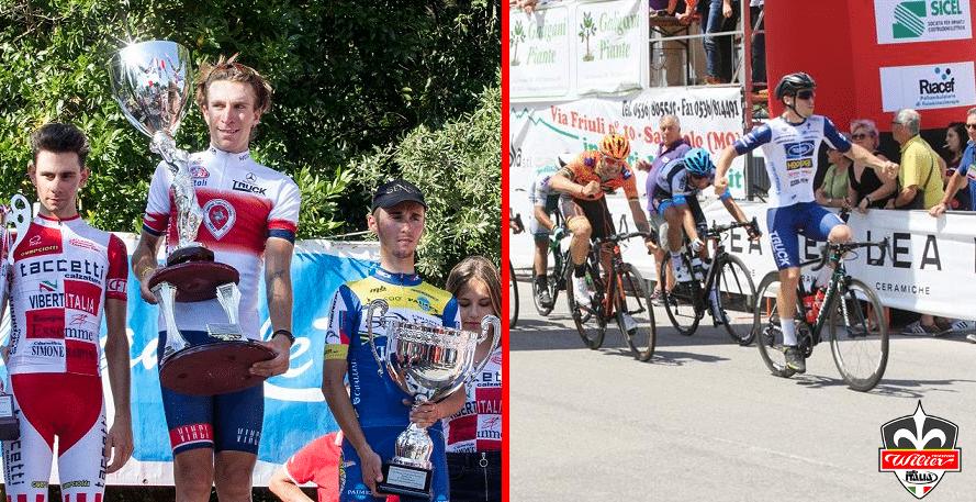 Moreno Marchetti y Nicholas Rinaldi, dos nuevas promesas para el Wilier Triestina.