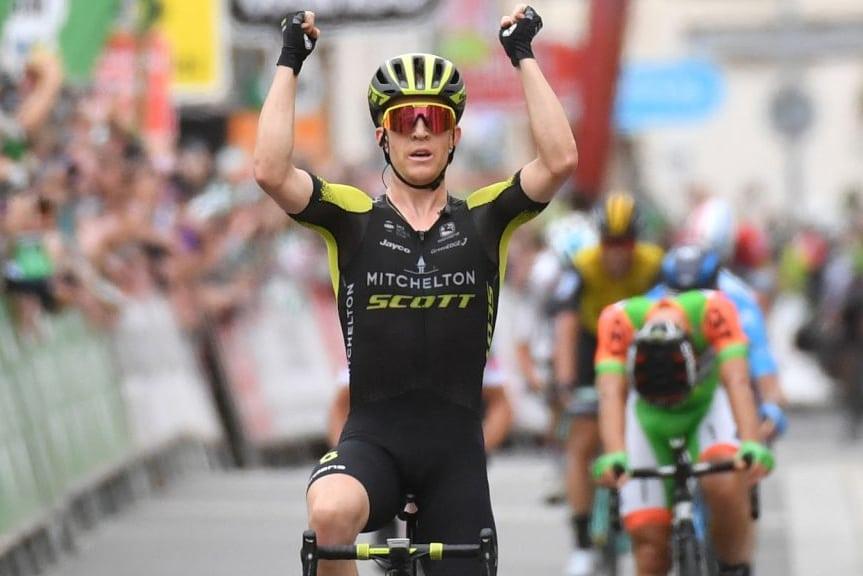 El australiano Cameron Meyer consiguió el triunfo en la segunda etapa del Tour de Gran Bretaña (Foto: OVO energy Tour).