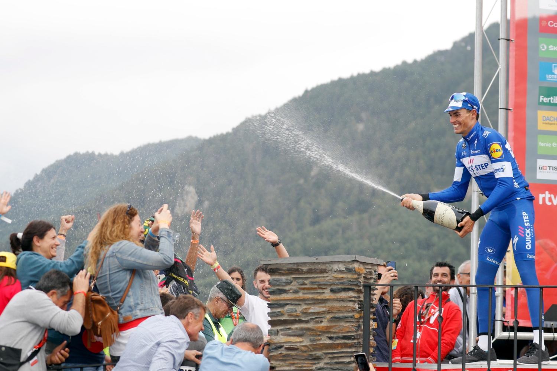 Enric Mas (Quick-Step) se subirá al podio mañana en Madrid (Foto: Luis Ángel Gómez).
