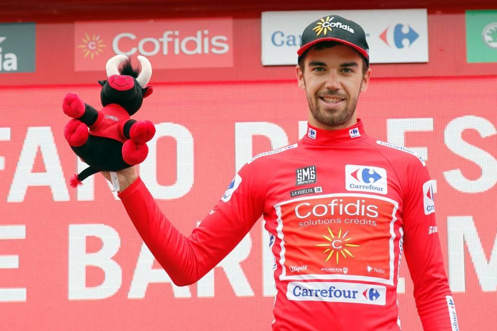 Jesús Herrada saldrá vestido de líder en la 14ª etapa de la Vuelta a España 2018 (Foto: LaVuelta).