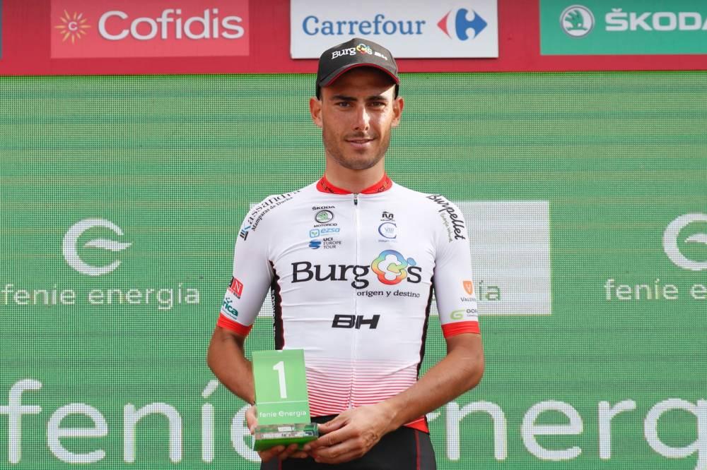 El cántabro Jesús Ezquerra en la décima etapa de la Vuelta a España 2018 (Foto: LaVuelta).