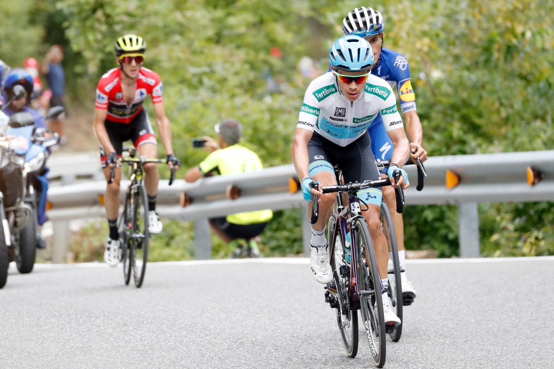 El colombiano termina tercero la Vuelta a España (Foto: Luis Ángel Gómez).