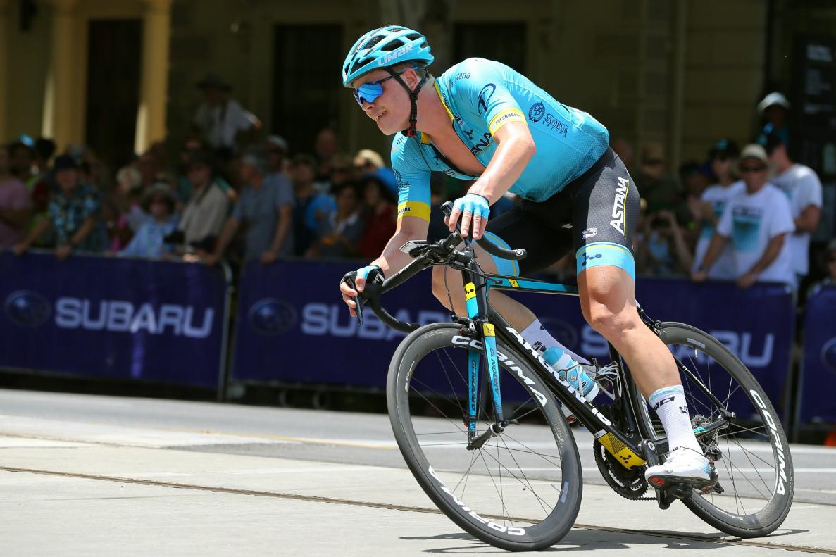 El noruego Truls Korsaeth ha decidido abandonar el ciclismo profesional para centrarse en los estudios (Fuente: Twitter).