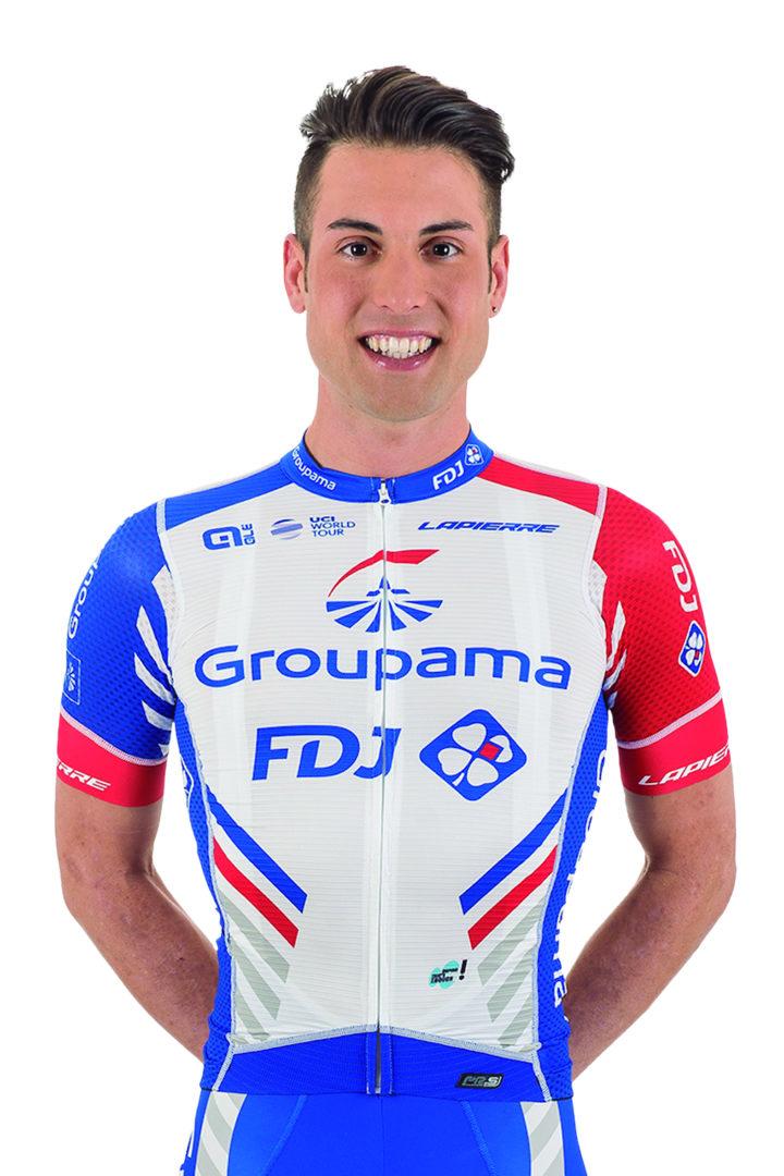 Davide Cimolai (Pordenone, Italia,13 de agostode1989) es un ciclista italiano cuyo fuerte son las llegadas al sprint aunque muchas veces hace de lanzador.