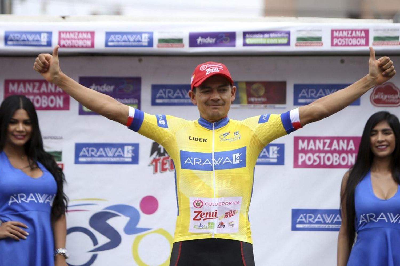 Cano se subió a lo más alto del podio en Medellín (Foto: Inaldo Pérez).