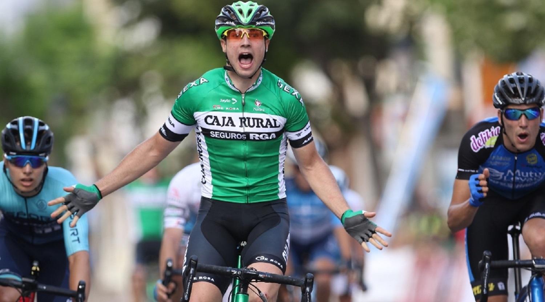 Viejo consiguió una victoria en la Vuelta a Castellón (Foto: Volta Castellón / Oskar Matxin).