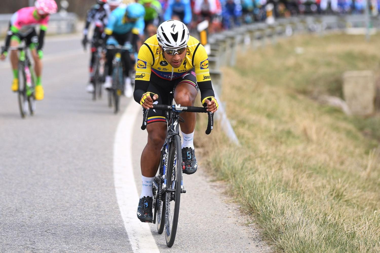 El ecuatoriano Jhonatan Narváez cambia el Quick-Step por el Team Sky (Foto: QuickStep).