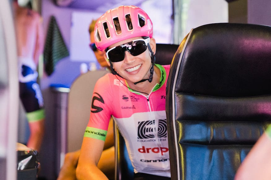 Joe Dombrowski continuará en el EF Education First en 2019 (Foto: EF).