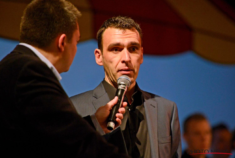 Kurt Van de Wouwer durante el acto de presentación.