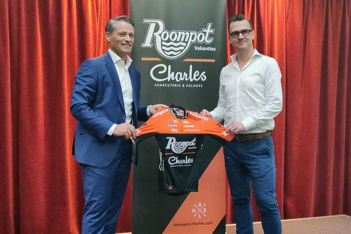 Presentación del Roompot-Charles, equipo ProContinental (Roompot-Charles).