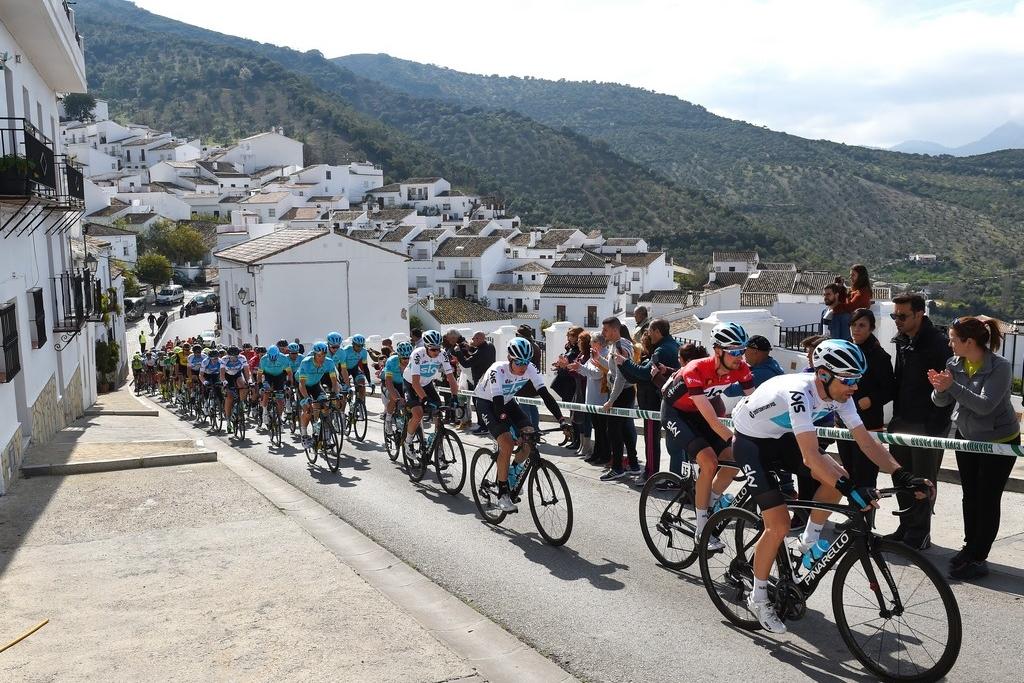Imagen de la Vuelta a Andalucía - Ruta del Sol. (Foto: Vuelta a Andalucía).