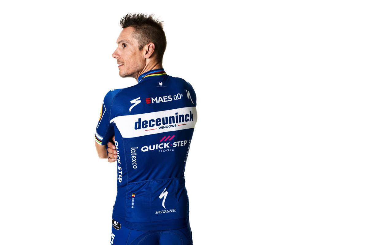 Imagen del maillot del Deceuninck Quick Step para 2019 (Foto: Deceuninck Quick-Step).