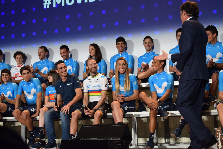 Presentación equipo Movistar