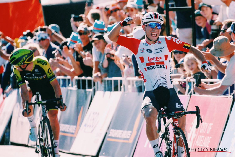 El australiano Caleb Ewan hizo una valoración positiva sobre la victoria cosechada en el Critérium del Santos Tour Down Under. Pese a no ser carrera UCI, el corredor del Lotto se mostró muy ilusionado.