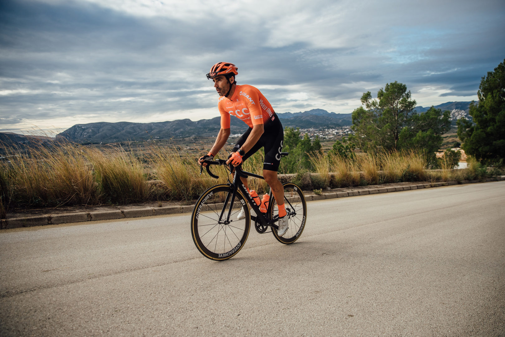 Fran Ventoso ciclista del CCC Team 2019