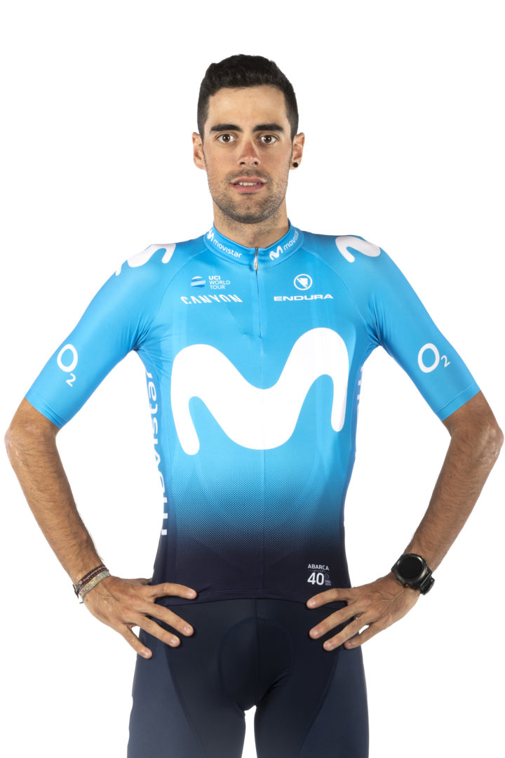 Jorge Arcas Movistar Team 2019.