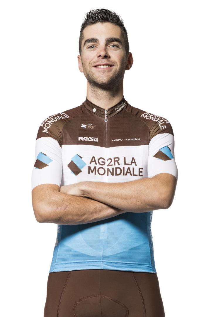 Tony Gallopin, ciclista del AG2R La Mondiale 2019