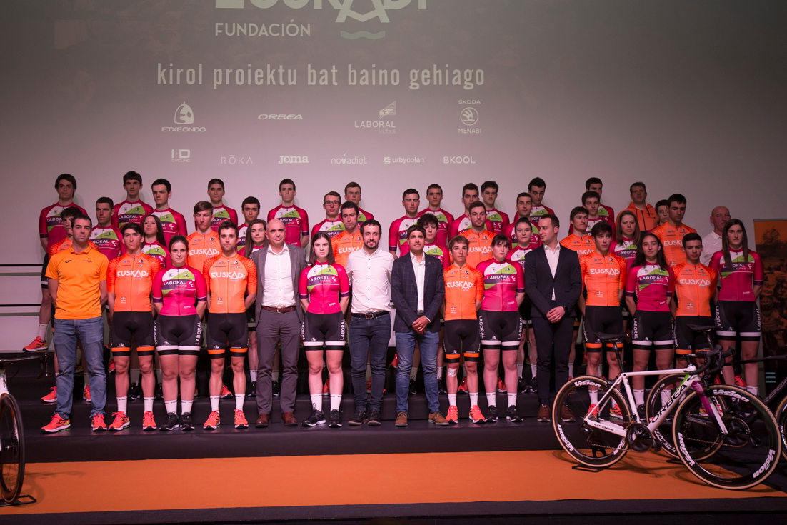 La Fundación Euskadi presentó su proyecto para la temporada 2019 el 16 de enero. (Foto: Fundación Euskadi).