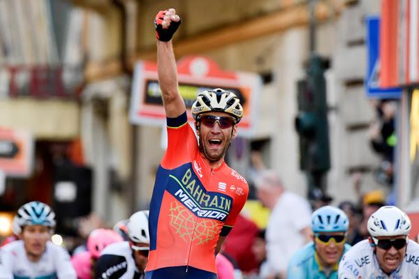 Vincenzo NIbali liderará al Bahrain en el Tour de los Emiratos Árabes (Foto: UAE).