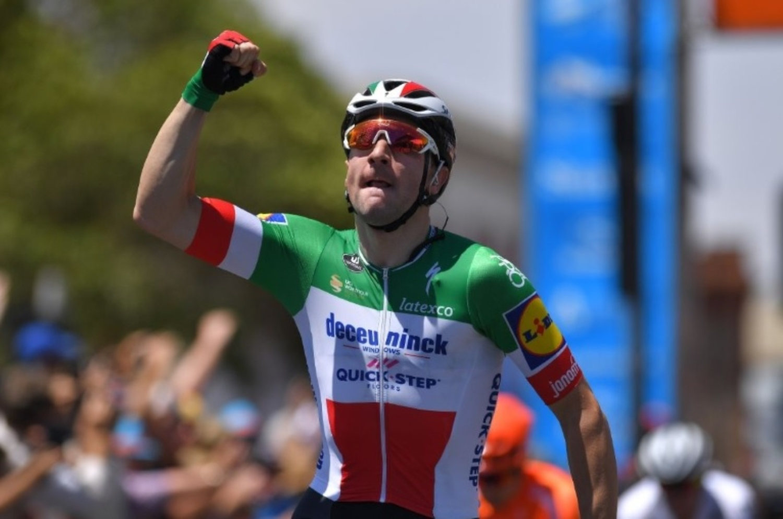 Elia Viviani UAE Tour etapa 5