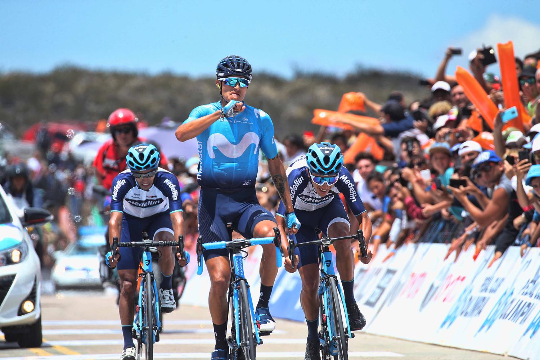 Anacona valoró su victoria en la etapa reina de la Vuelta a San Juan: