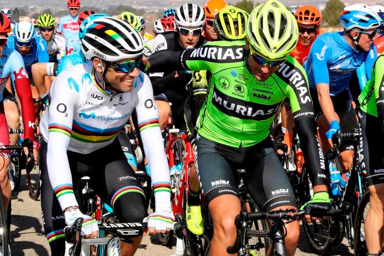 Beñat Intxausti y Alejandro Valverde (Foto: Euskadi Murias).