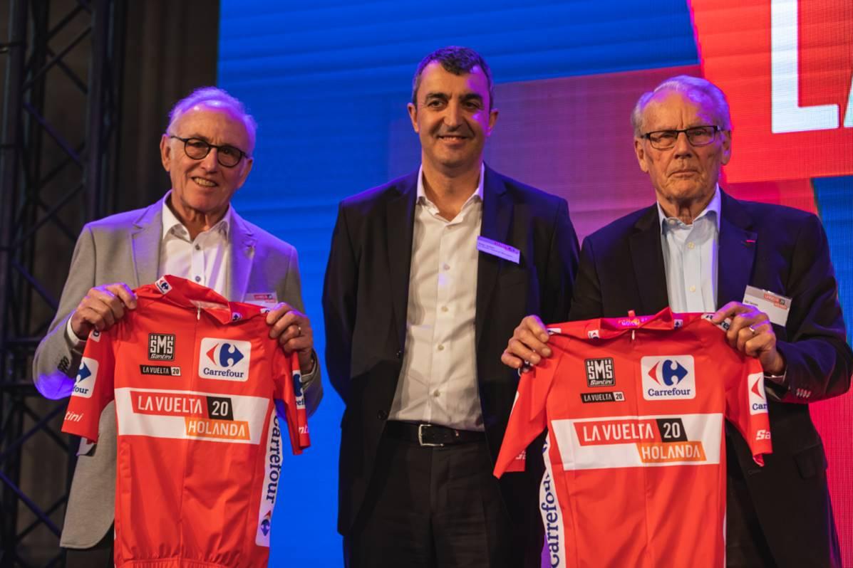 Javier Guillén en la presentación de La Vuelta a España 2019 (Foto: Unipublic).