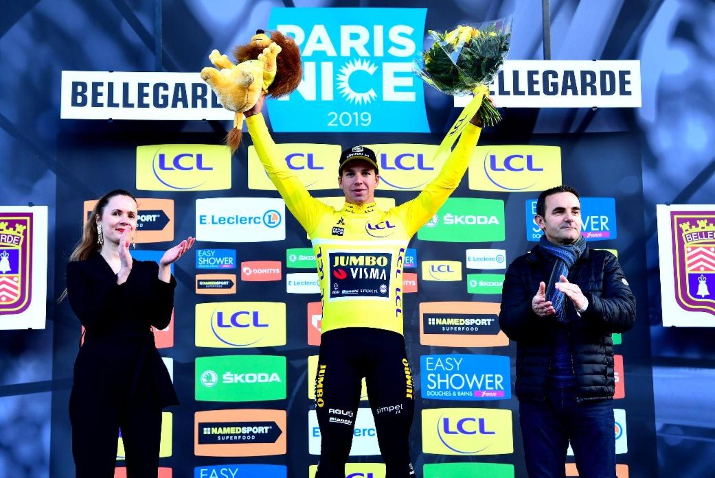 Dylan Groenewegen París-Niza podio