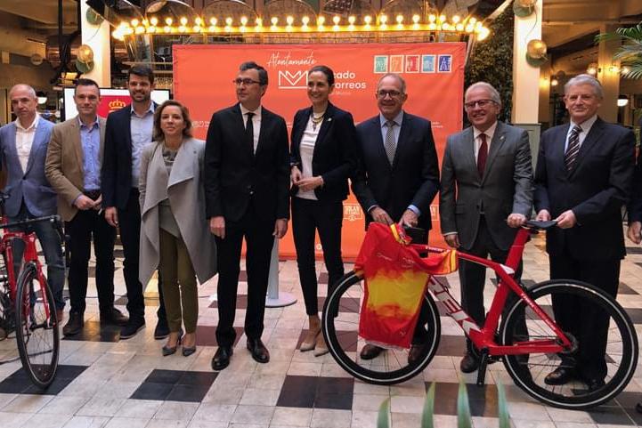 Personalidades durante la presentación del Campeonato Nacional de España 2019 (Foto: RFEC).