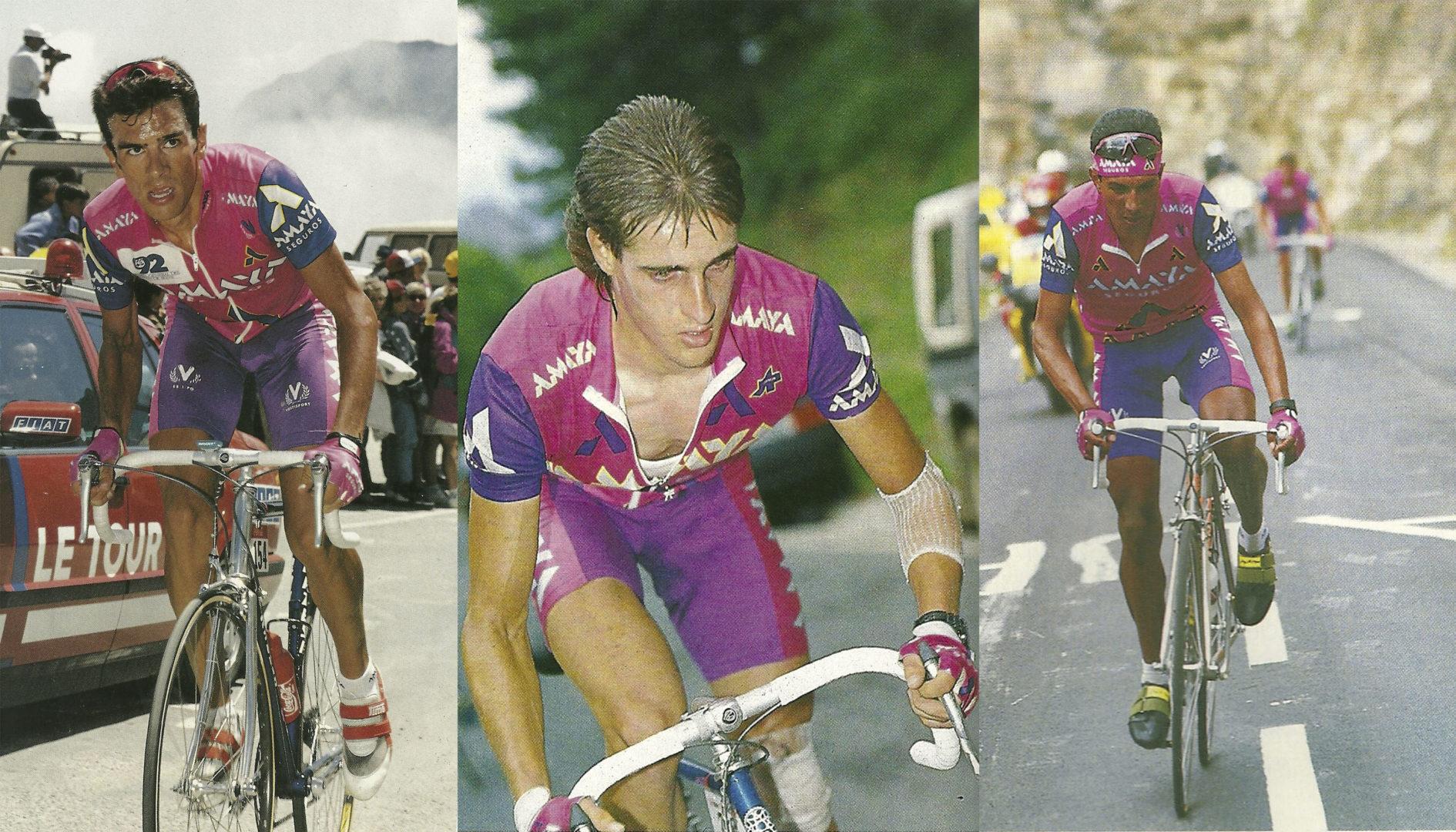 Se cumplen 30 años del nacimiento del equipo Amaya Seguros
