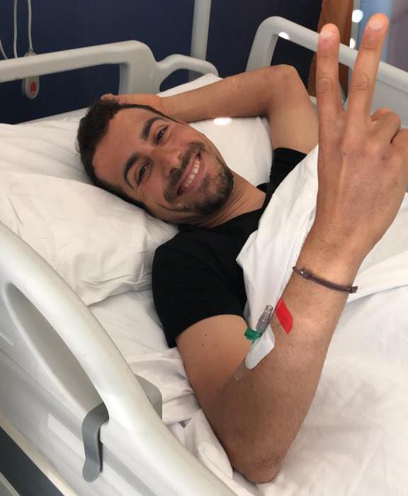 Fabio Aru angioplastia de su arteria ilíaca