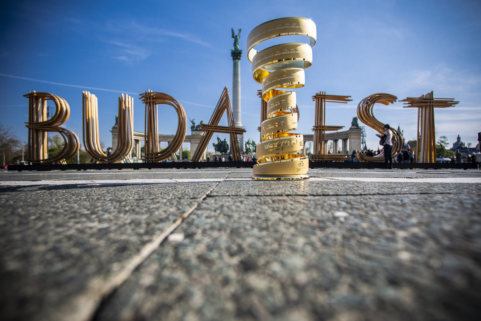 La capital húngara sera el inicio del Giro de Italia 2020.