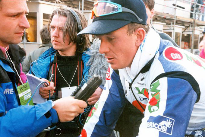 Johan Museeuw en el GB MG de 1994.