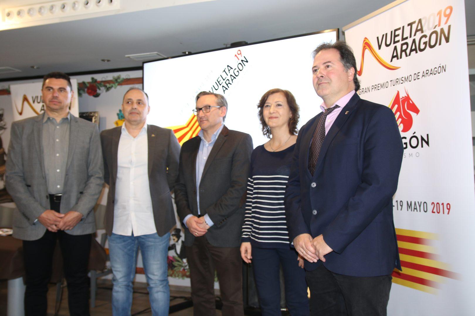 Teruel, escenario de la presentación de  la Vuelta  a Aragón