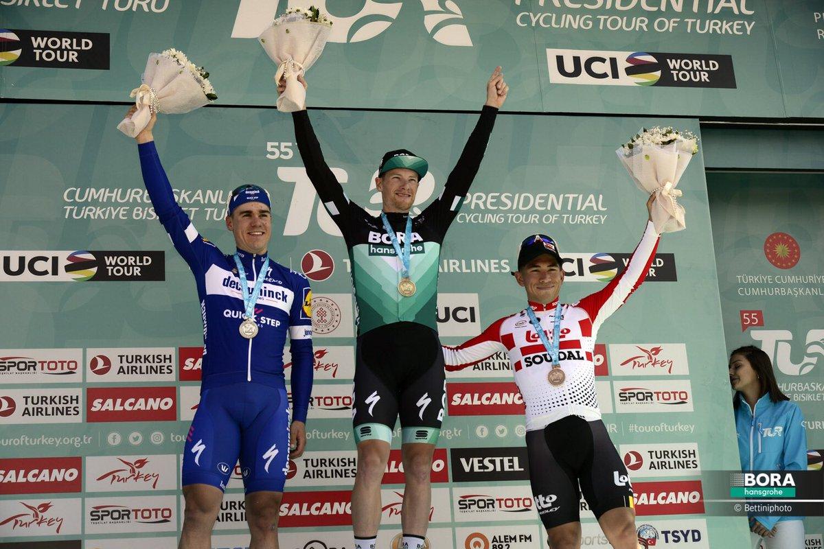 Tour de Turquia podio etapa 1
